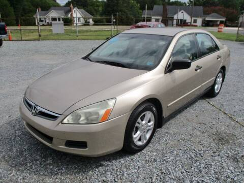 2006 Honda Accord for sale at Family Auto Sales of Mt. Holly LLC in Mount Holly NC