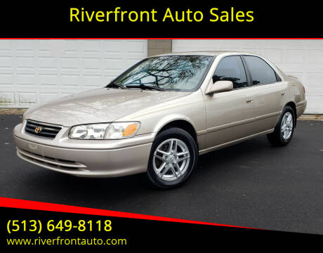 2000 Toyota Camry for sale at Riverfront Auto Sales in Middletown OH