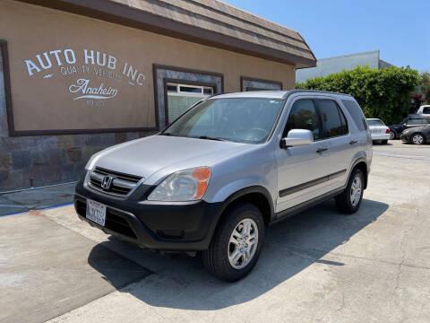 2002 Honda CR-V for sale at Auto Hub, Inc. in Anaheim CA