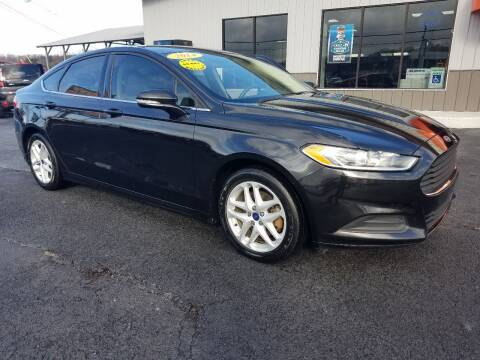 2014 Ford Fusion for sale at Moores Auto Sales in Greeneville TN