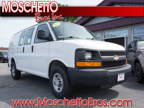 2014 Chevrolet Express Cargo for sale at Moschetto Bros. Inc in Methuen MA