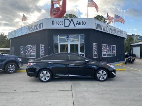 2013 Hyundai Sonata Hybrid for sale at Direct Auto in D'Iberville MS