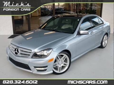 2013 Mercedes-Benz C-Class for sale at Mich's Foreign Cars in Hickory NC