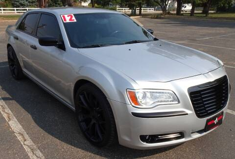 2012 Chrysler 300 for sale at VISTA AUTO SALES in Longmont CO