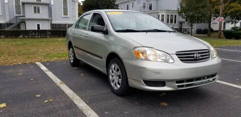 2004 Toyota Corolla for sale at Boston Auto World in Quincy MA