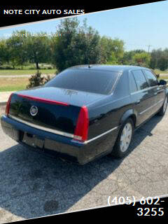 2006 Cadillac DTS for sale at NOTE CITY AUTO SALES in Oklahoma City OK