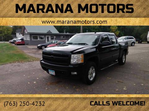2007 Chevrolet Silverado 1500 for sale at Marana Motors in Princeton MN