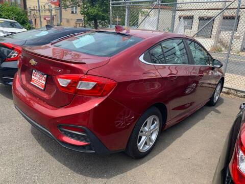 2017 Chevrolet Cruze for sale at Buy Here Pay Here Auto Sales in Newark NJ