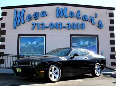 2013 Dodge Challenger for sale at MEGA MOTORS in South Houston TX