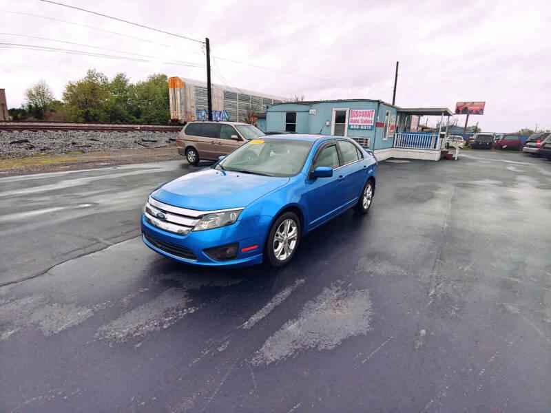 2012 Ford Fusion for sale at DISCOUNT AUTO SALES in Murfreesboro TN