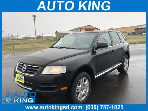 2006 Volkswagen Touareg for sale at Auto King in Rapid City SD