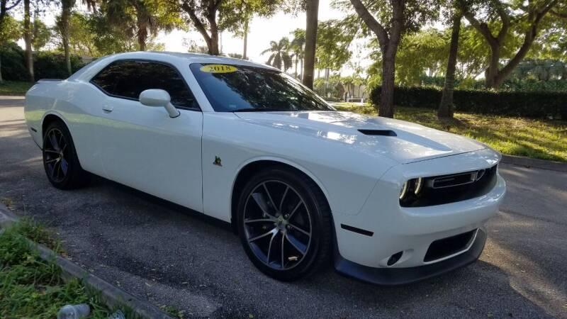 2018 Dodge Challenger for sale at DELRAY AUTO MALL in Delray Beach FL