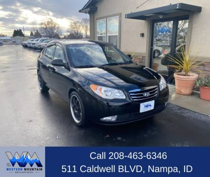 2010 Hyundai Elantra for sale at Western Mountain Bus & Auto Sales in Nampa ID