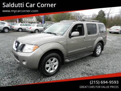 2008 Nissan Pathfinder for sale at Saldutti Car Corner in Gilbertsville PA