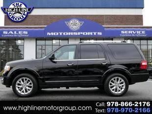 2016 Ford Expedition for sale at Highline Group Motorsports in Lowell MA