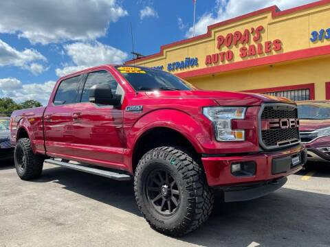 2015 Ford F-150 for sale at Popas Auto Sales in Detroit MI