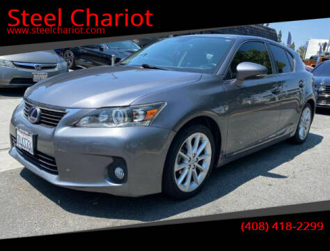 2013 Lexus CT 200h for sale at Steel Chariot in San Jose CA