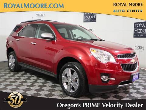 2013 Chevrolet Equinox for sale at Royal Moore Custom Finance in Hillsboro OR