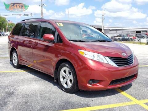 2013 Toyota Sienna for sale at GATOR'S IMPORT SUPERSTORE in Melbourne FL