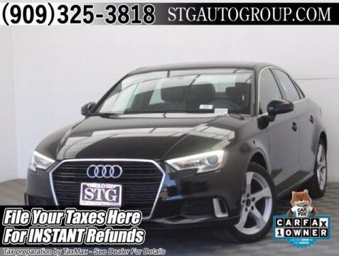 2019 Audi A3 for sale at STG Auto Group in Montclair CA
