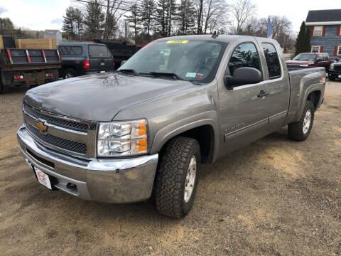 2012 Chevrolet Silverado 1500 for sale at Winner's Circle Auto Sales in Tilton NH
