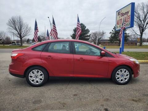 2012 Ford Focus for sale at R Tony Auto Sales in Clinton Township MI