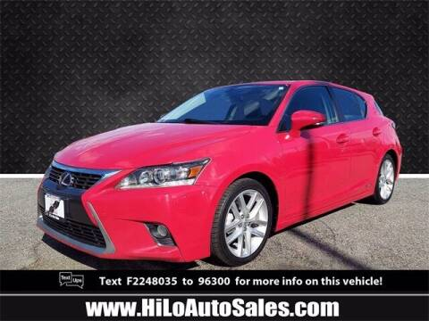 2015 Lexus CT 200h for sale at Hi-Lo Auto Sales in Frederick MD