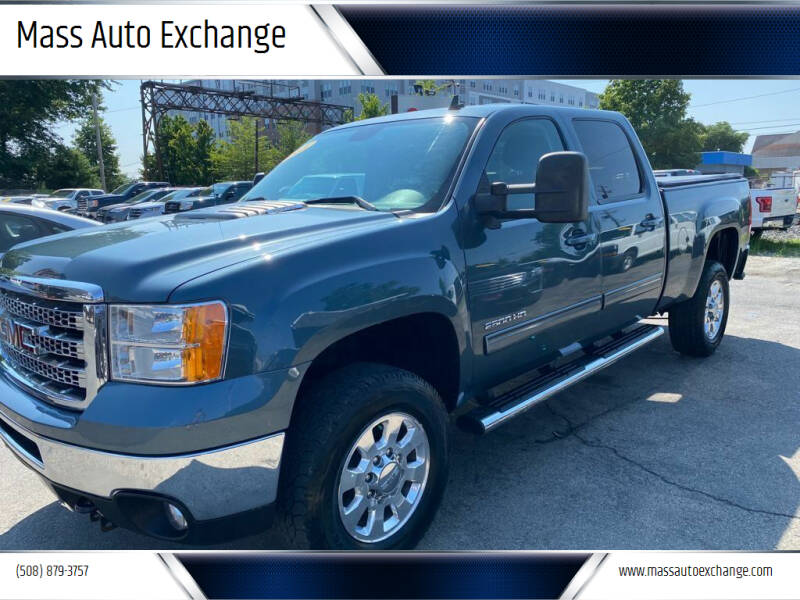 2013 GMC Sierra 2500HD for sale at Mass Auto Exchange in Framingham MA