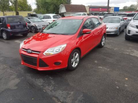 2013 Ford Focus for sale at Nonstop Motors in Indianapolis IN