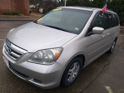 2006 Honda Odyssey for sale at Hilton Motors Inc. in Newport News VA