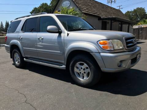 2002 Toyota Sequoia for sale at Three Bridges Auto Sales in Fair Oaks CA