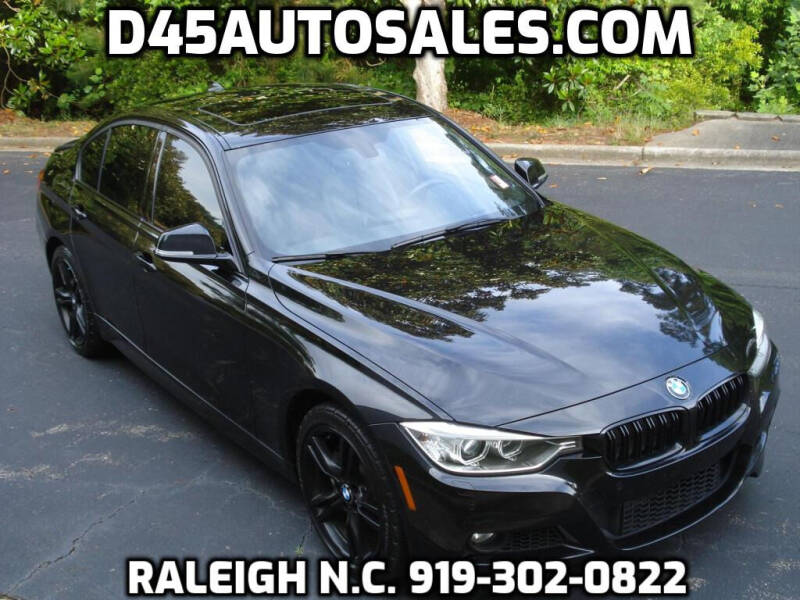 2015 BMW 3 Series for sale at D45 Auto Brokers in Raleigh NC