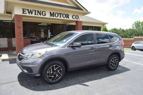 2016 Honda CR-V for sale at Ewing Motor Company in Buford GA