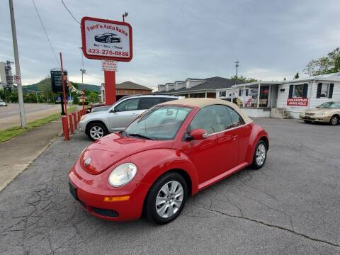 2009 Volkswagen New Beetle Convertible for sale at Ford's Auto Sales in Kingsport TN