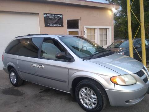 2002 Dodge Grand Caravan for sale at Sparks Auto Sales Etc in Alexis NC