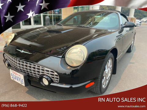 2004 Ford Thunderbird for sale at RN Auto Sales Inc in Sacramento CA