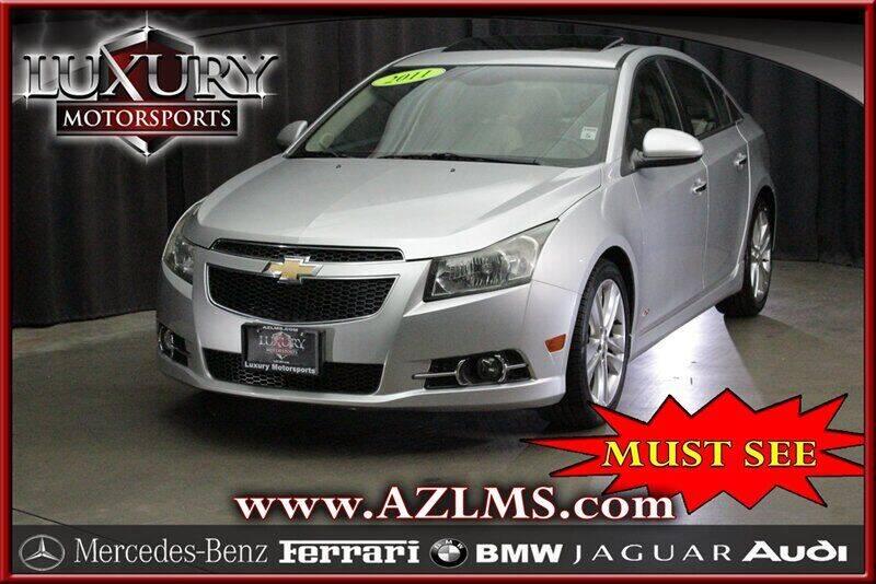 2011 Chevrolet Cruze for sale at Luxury Motorsports in Phoenix AZ