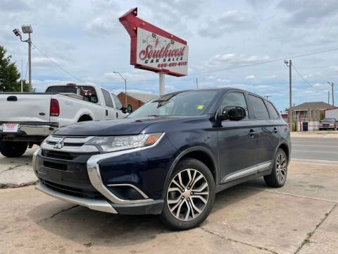 2018 Mitsubishi Outlander for sale at Southwest Car Sales in Oklahoma City OK