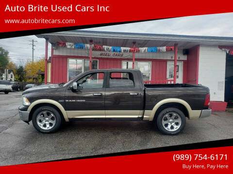 2011 RAM Ram Pickup 1500 for sale at Auto Brite Used Cars Inc in Saginaw MI