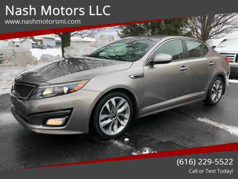 2015 Kia Optima for sale at Nash Motors LLC in Hudsonville MI