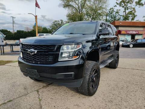 2015 Chevrolet Tahoe for sale at Lamarina Auto Sales in Dearborn Heights MI