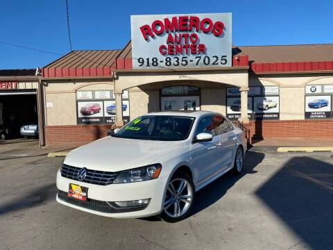 2015 Volkswagen Passat for sale at Romeros Auto Center in Tulsa OK