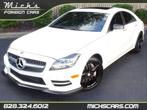 2014 Mercedes-Benz CLS for sale at Mich's Foreign Cars in Hickory NC