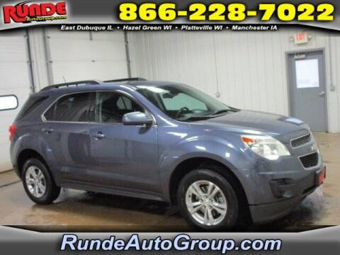 2013 Chevrolet Equinox for sale at Runde Chevrolet in East Dubuque IL