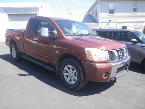 2004 Nissan Titan for sale at VICTORY AUTO in Lewistown PA