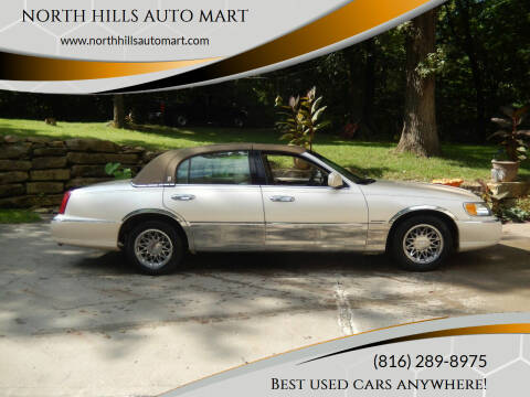 1998 Lincoln Town Car for sale at NORTH HILLS AUTO MART in Kansas City MO