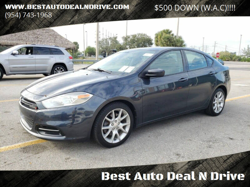 2013 Dodge Dart for sale at Best Auto Deal N Drive in Hollywood FL