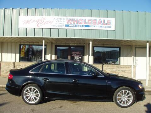 2015 Audi A4 for sale at Magic City Wholesale in Minot ND