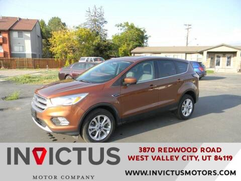 2017 Ford Escape for sale at INVICTUS MOTOR COMPANY in West Valley City UT