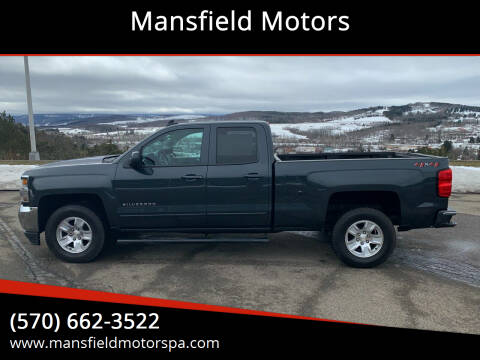 2018 Chevrolet Silverado 1500 for sale at Mansfield Motors in Mansfield PA